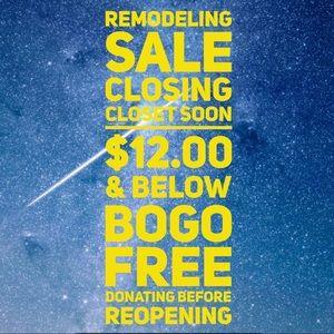 🔥BOGO FREE SALE BEFORE CLOSING MONDAY🔥